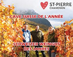 La Cave St-Pierre élue Cave suisse de l'année!