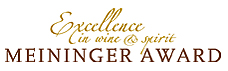 The Meininger Award Excellence in wine & spirit 2019